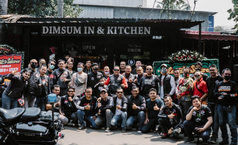 Pembukaan Dimsum In & Kitchen Ampera: Ketika Biker Mencicipi 'The Best Dimsum in Country'