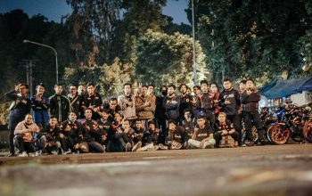 Kopdargab F150 Injection Club Indonesia (FICI) Se-Jabodetabek Disambung Night Ride