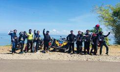 Rindu Touring, Bikers FOC 150 Bekasi Gas ke Parang Gombong