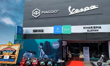 Piaggio Indonesia Buka Dealer Baru di Sleman, Yogyakarta