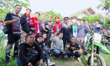 Ujang Rambo 'Preman Pensiun' Ikut Touring Tamasha Bareng Supermoto Hijrah