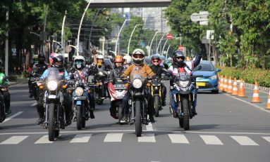 Royal Enfield 'Girls Ride Out' Debut di Jakarta, Ikut Meriahkan GSrek International Bike Week 2019