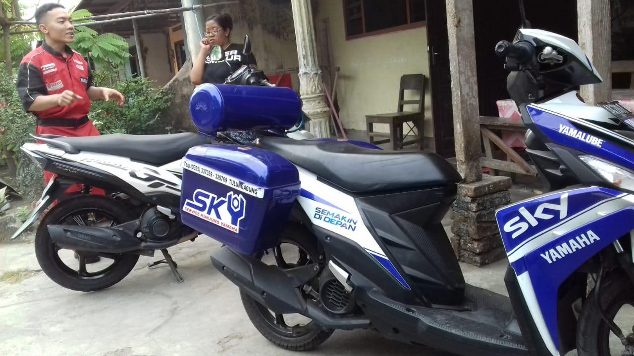 Layanan Servis Kunjung Yamaha (SKY) Sudah Bisa Dinikmati Bikers Madiun-Kediri