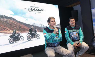 Geber Royal Enfield Himalayan, Puluhan Bikers Indonesia Touring ke Pegunungan Himalaya