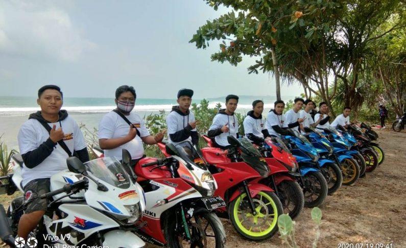 GSX Community Nusantara (GCN) Sukabumi Peringati HUT ke-1 dengan Touring Wisata