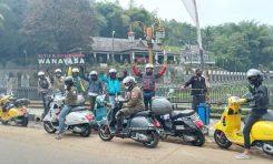 Bangkitkan Semangat Member, General Team Vespa Society (GTVS) Jakarta Touring ke Bandung