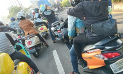 General Team Vespa Society (GTVS) dan Burgmanian Indonesia Riding Bareng ke Puncak
