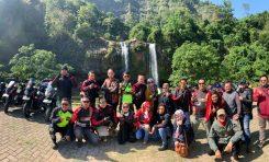 Jalin Kemesraan, Bikers HAI Cianjur dan HPCI Cianjur Touring Bareng Nikmati Pesona Alam Selatan Jawa Barat