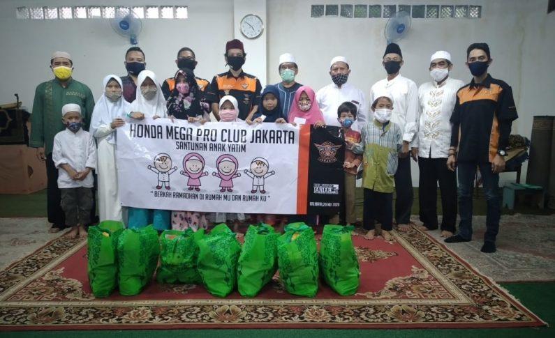 Cara Jempolan HMPC Jakarta Hadapi Covid-19 Bersama Member dan Yatim Piatu