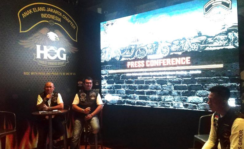 Pulau Dewata Jadi Sasaran Turing Terbesar HOG Anak Elang Jakarta Chapter