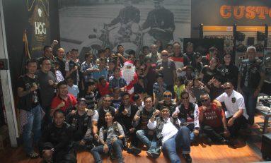 Harley Owners Group Anak Elang Tutup Kegiatan 2019 dengan Bakti Sosial