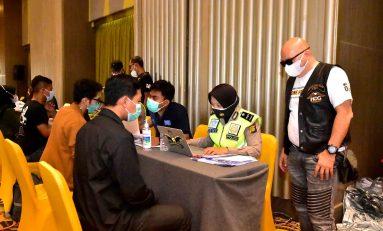 Prihatin Pandemi, HOG Anak Elang Jakarta Chapter Gelar Vaksinasi Covid-19 untuk Umum
