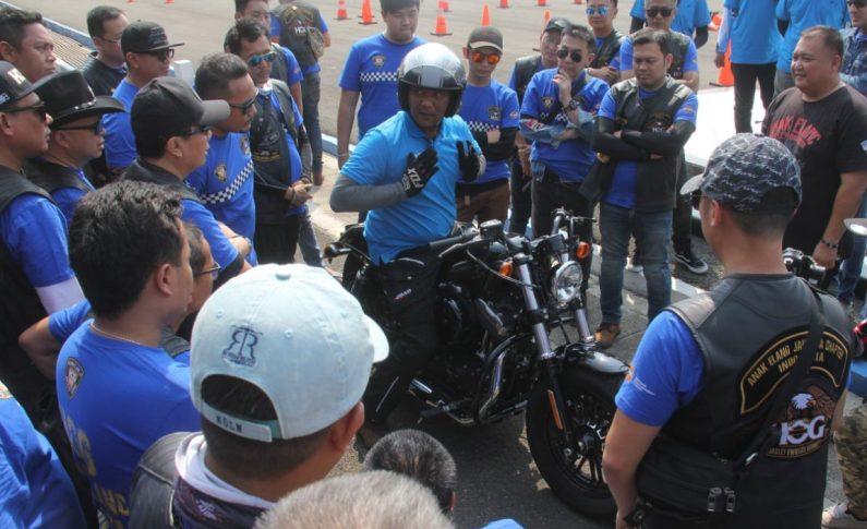Keseriusan Biker Moge Wujudkan Keamanan Berkendara