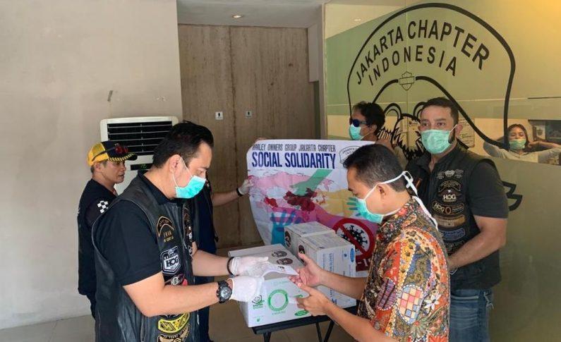 Harley Owners Group Jakarta Chapter (HOG JC) Bersama Petugas Medis Lawan Corona