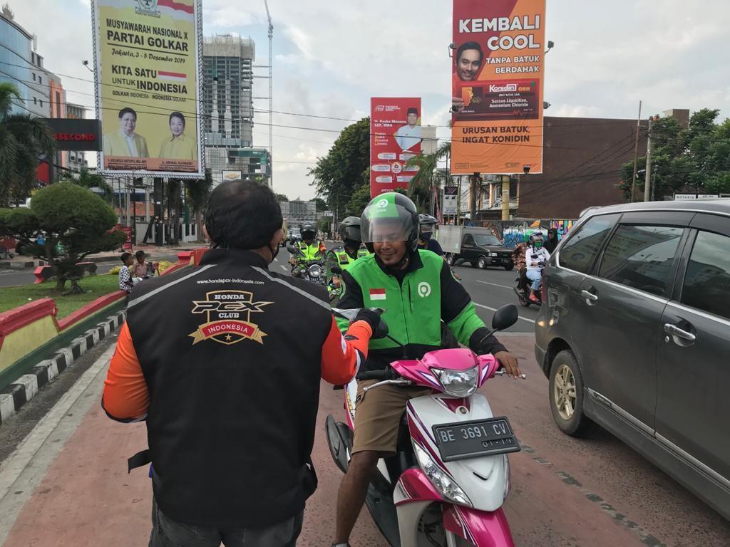 Gerakan HPCI Lampung Berbagi Masker Cegah Covid-19