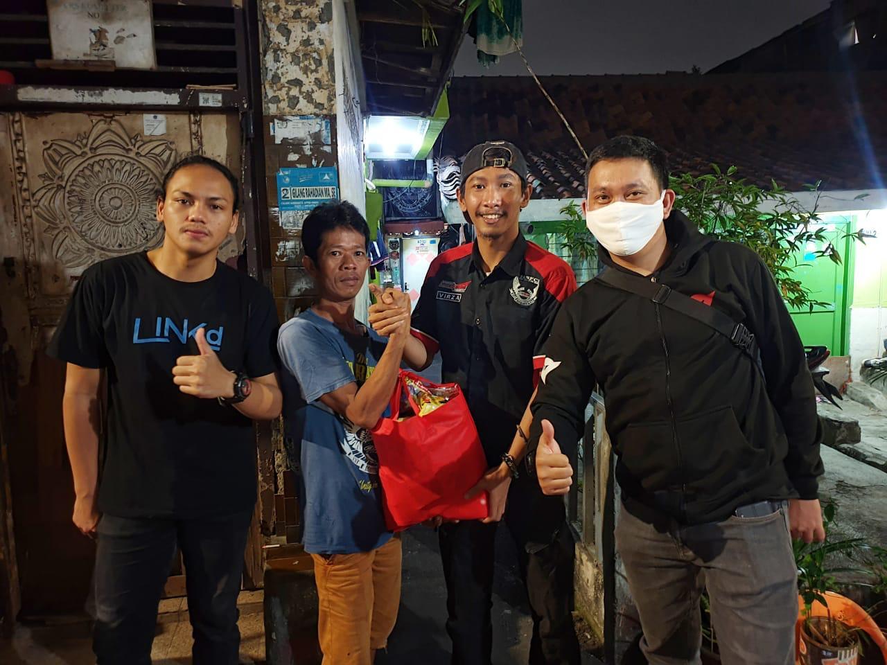 HSFCI Jakarta Bagikan Sembako ke Rumah Member