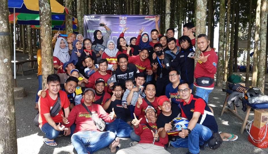 Perayaan Ulang Tahun ke-3 GSX Community Nusantara (GCN) Tangsel Diserbu Bikers RX King