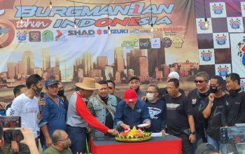 Peringati HUT ke-5, Burgmanian Indonesia Padukan Gathering dan Baksos
