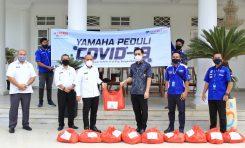 Yamaha Bangka Belitung Produksi Face Shield dan Disinfektan untuk Baksos