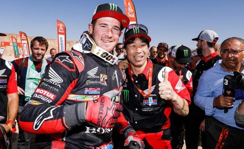 Lewat Ricky Brabec, Honda Akhirnya Patahkan Dominasi KTM di Reli Dakar