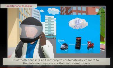 Smartphone As Brain, Teknologi Mutakhir dari Honda