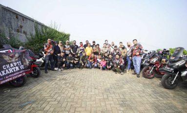 Sunmori Honda ADV Indonesia (HAI) Jakarta Timur dengan Protokol Kesehatan