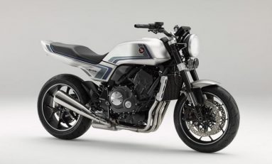 Honda Bangkitkan Motor Sport Retro Lewat CB-F Concept