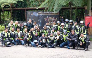 Honda Forza Club Indonesia (HFCI) Rayakan Hari Jadi Perdana dengan Mubes