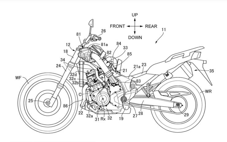 Honda Siapkan Motor Adventure dengan Mesin Supercharge
