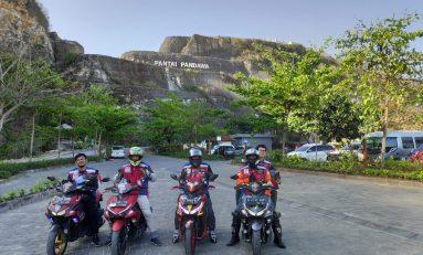 Touring ARCI (Aerox 155 Riders Club Indonesia) Tempuh Jarak 3 Ribu KM
