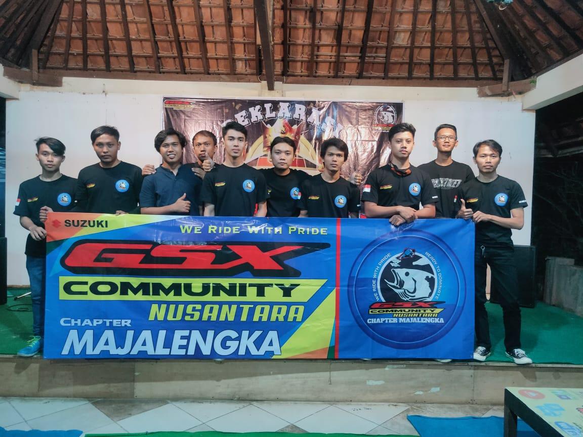 GSX Community Nusantara (GCN) Majalengka Resmi Deklarasi di HUT Perdananya