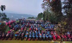 Tumpah Ruah Bikers di HUT ke-3 GSX Community Nusantara (GCN)