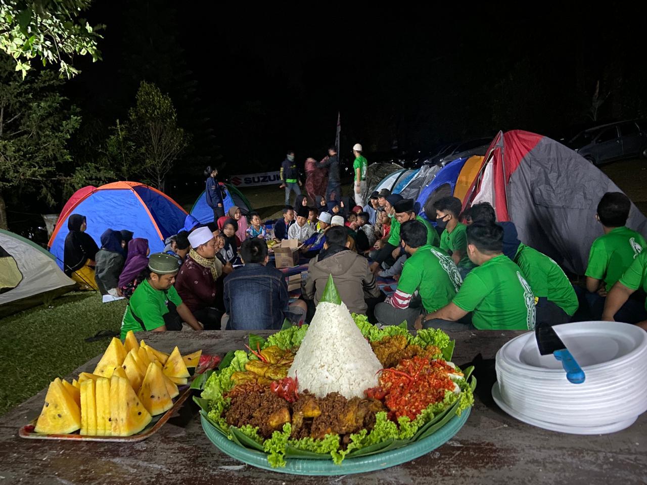 Rayakan HUT ke-3, GCN Tangkot Ajak Camping Anak Panti Asuhan