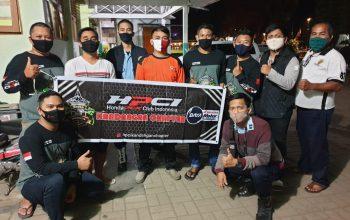 Honda PCX Club Indonesia (HPCI) Wilayah Kalimantan Geruduk Kantor PMI