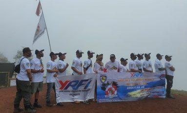 Touring Scorpio Monas Club (SMC) Angkat Potensi Wisata Jawa Barat