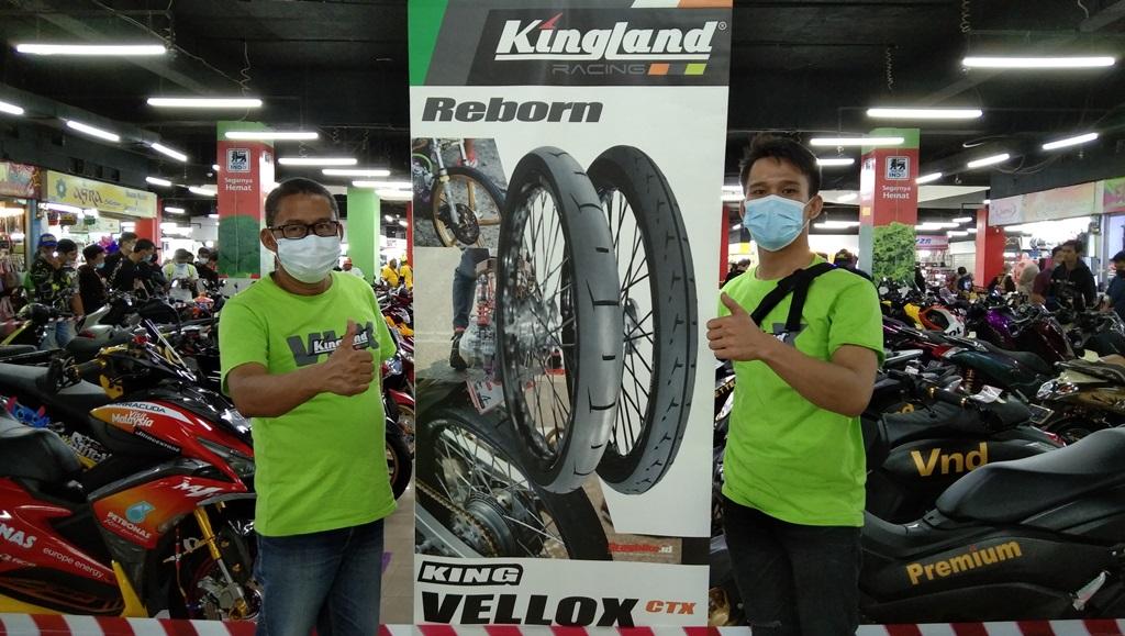 Ban Kingland Mulai Unjuk Gigi di Kontes Modifikasi Motor