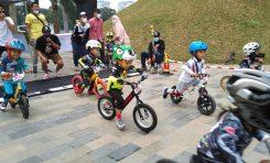 Push Bike Competition Hadir di Senayan Park, Diikuti Ratusan Pebalap Cilik