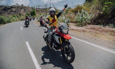 Ananda Omesh Ajak Para Selebriti Touring Sambil Berbagi