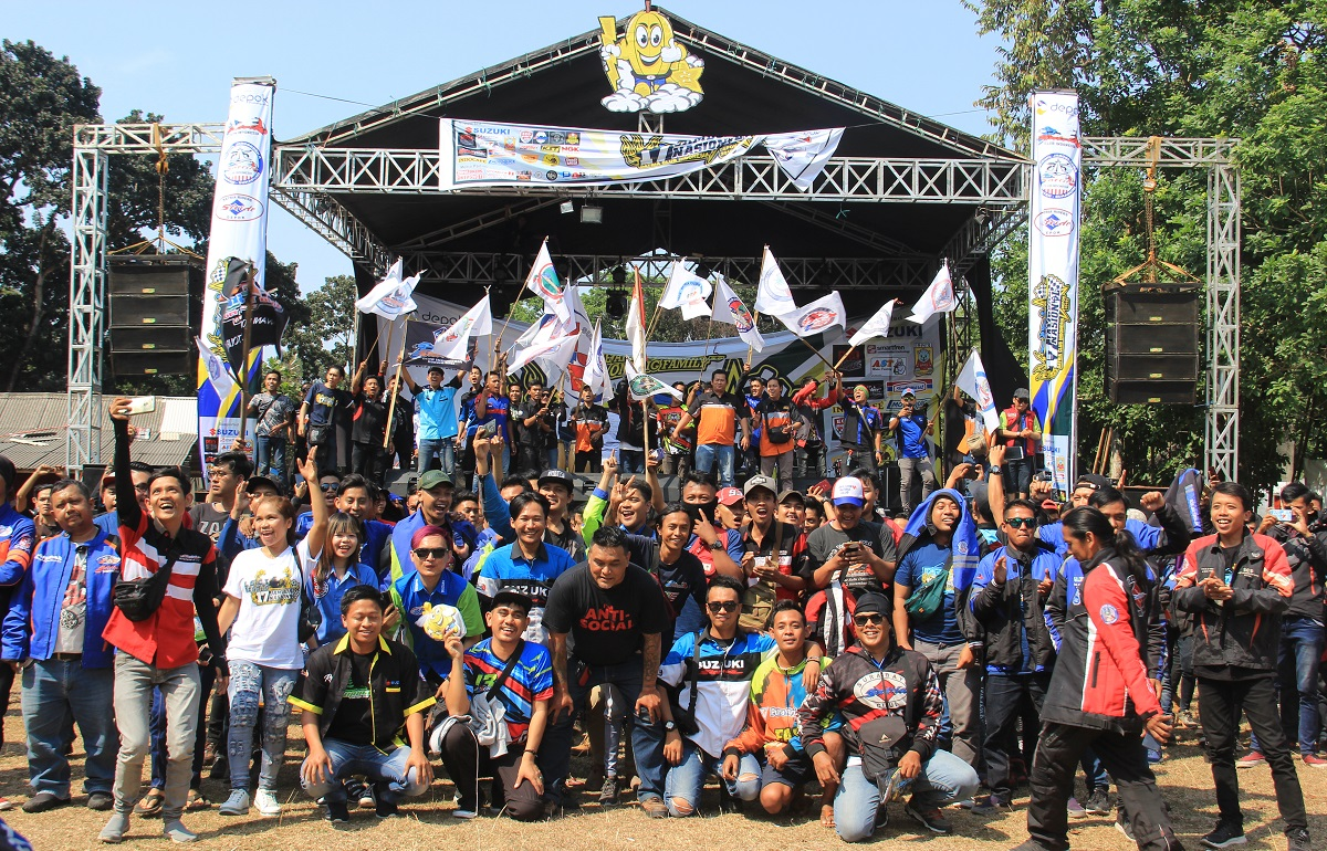 Jamnas ke-17 Satria Club Indonesia (SCI), Stride Kasih Hadiah Motor