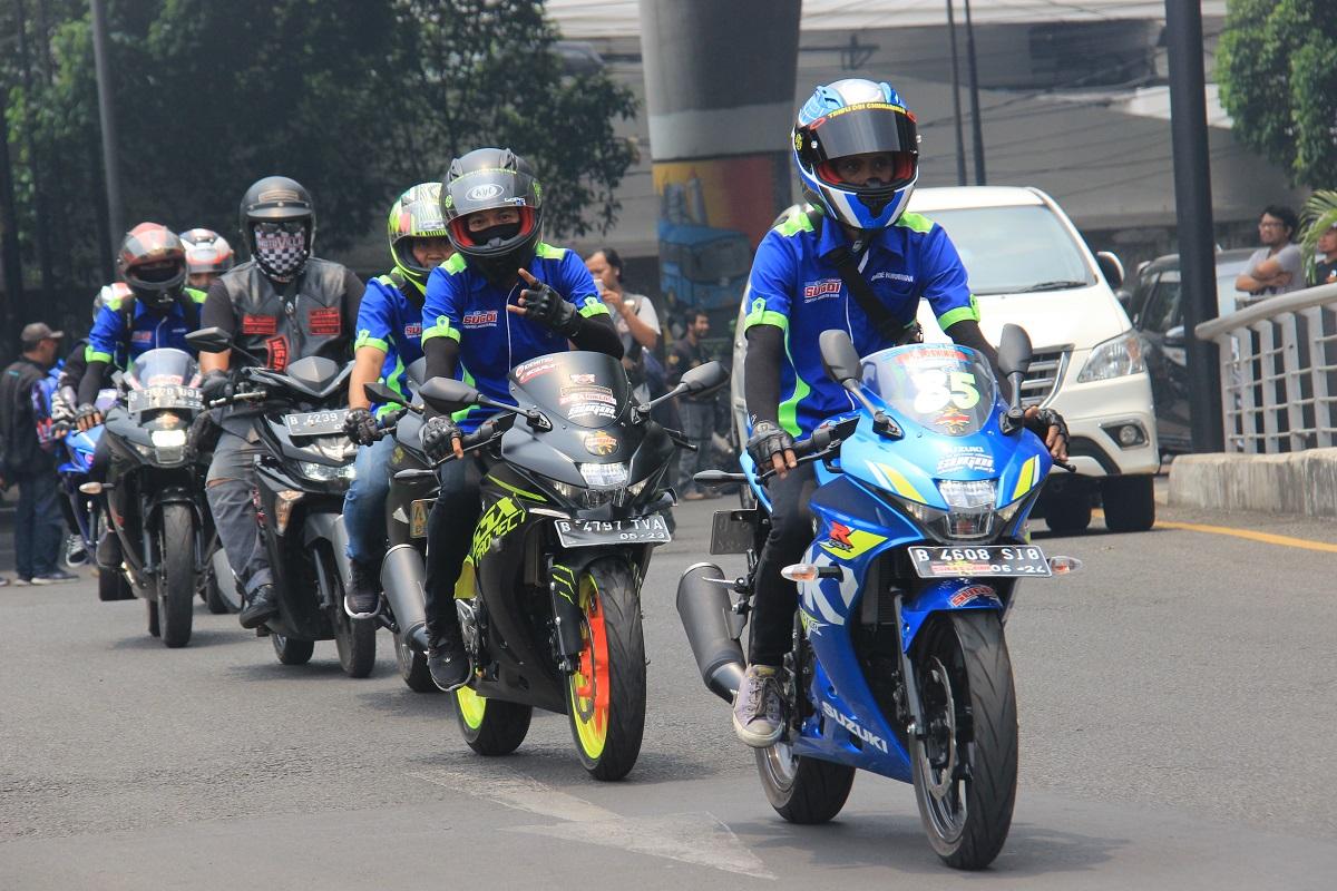Suzuki GSX Owner Indonesia (SUGOI), Komunitas Bikers Yang Menakjubkan
