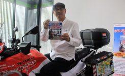 Sukses Touring Jakarta - London, Stephen Langitan Luncurkan Buku