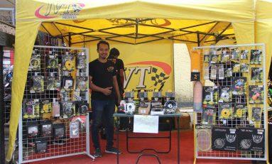 Rio Adi Buktikan Kualitas Sparepart JVT di Balap Indoclub