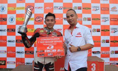 Juara Umum Pemula Indoclub, RCB Boyong Reza Reinaldi ke MotoGP