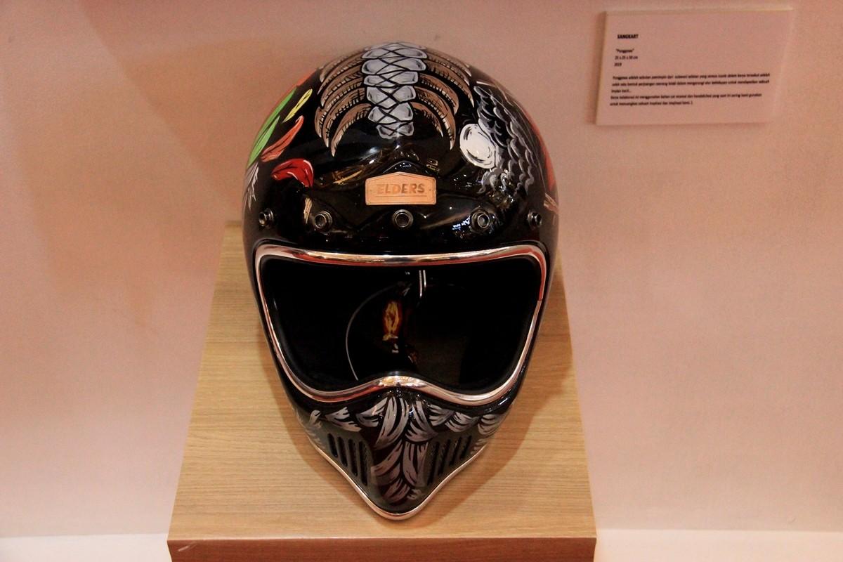 Galeri Foto: Inspirasi Modifikasi Helm Simpel Tapi Keren (Bagian 2)