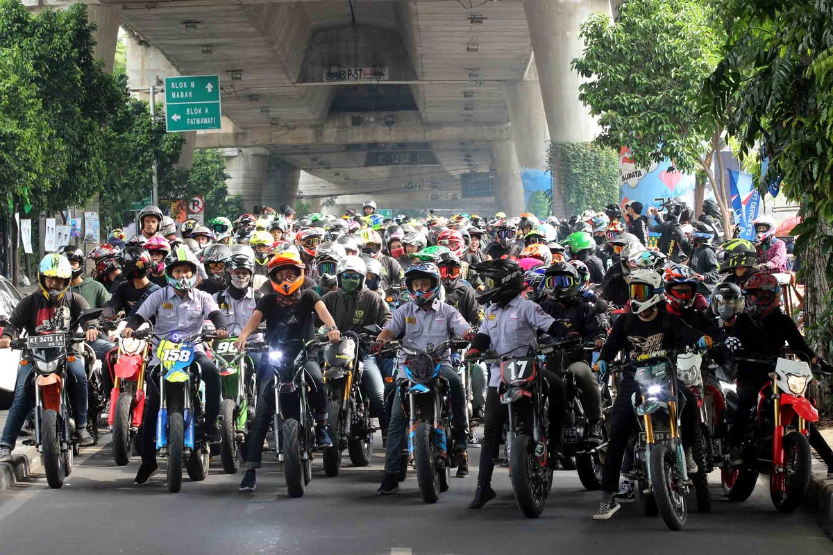 Dampak Corona, SMI Tunda Pelaksanaan International Supermoto Ride Day (ISRD) 2020