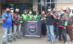 Indonesia Max Owners (IMO) Gandeng Gomax Riders Gelar Donor Darah