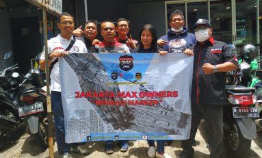 Bangun Rasa Peduli, Jakarta Max Owners Berbagi Masker