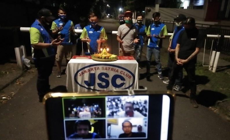 Perayaan HUT ke-18 Jakarta Satria Club (JSC) Digelar Online