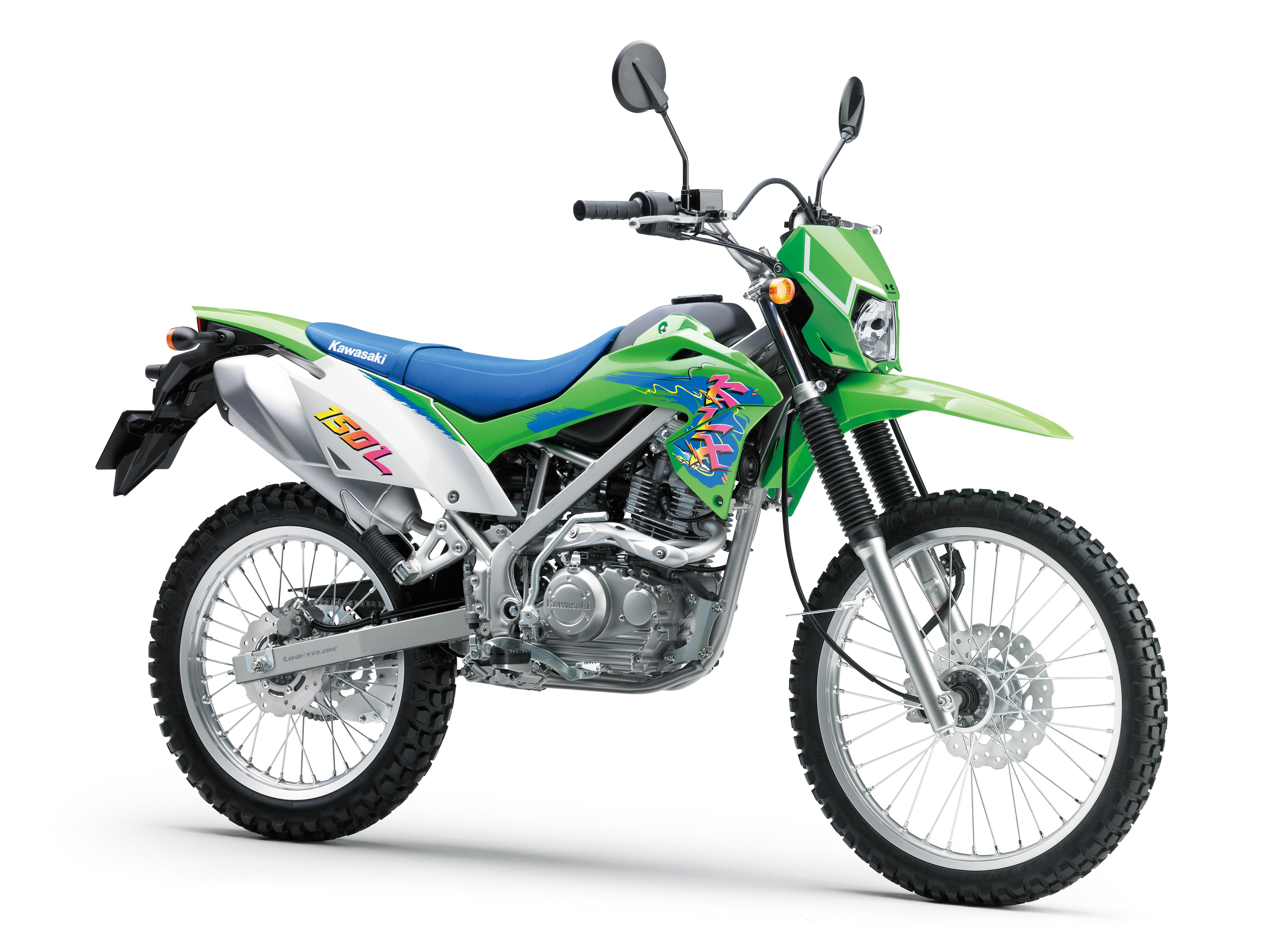 Dapat Sentuhan Anyar, Kawasaki KLX150L Tampil Lebih Retro