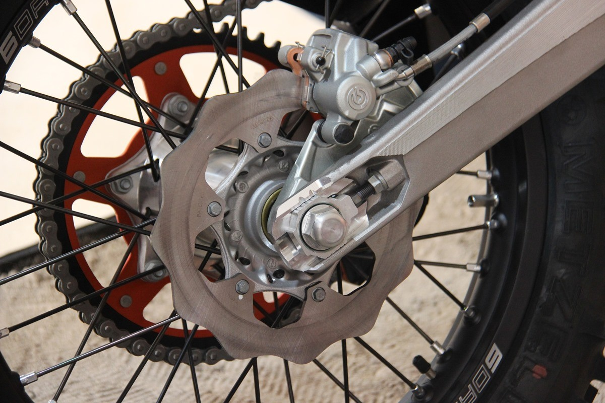 KTM 450 EXC-F Six Days Portugal Edition